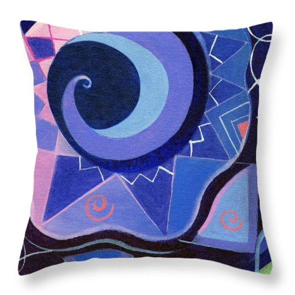 Pattern Power 2 Throw Pillow by Helena Tiainen