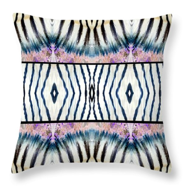 Patterned After Nature IIi Throw Pillow by Lady Ex