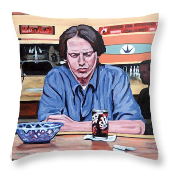 Pause for Reflection Throw Pillow by Tom Roderick