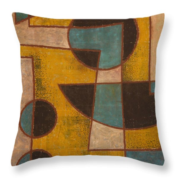 Pauses Between The Songs Throw Pillow by Peter Hugo McClure