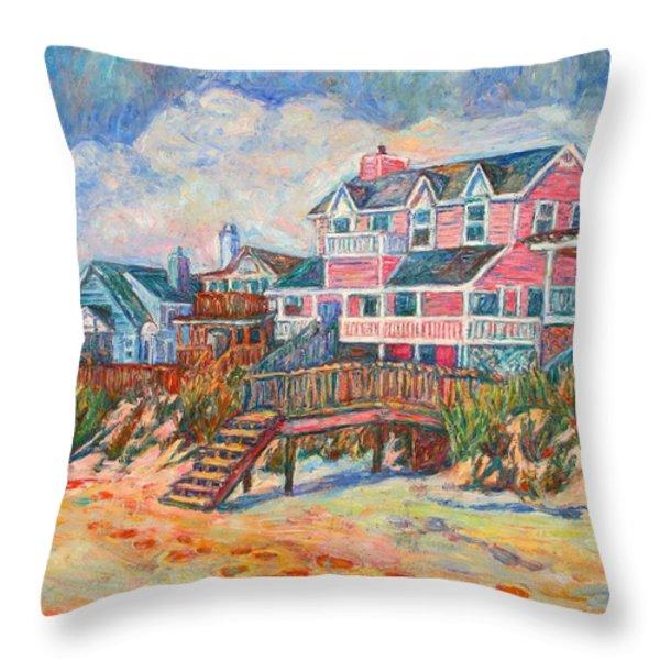Pawleys Island Throw Pillow by Kendall Kessler