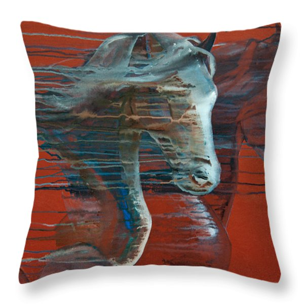 Peace And Justice Throw Pillow by Jani Freimann