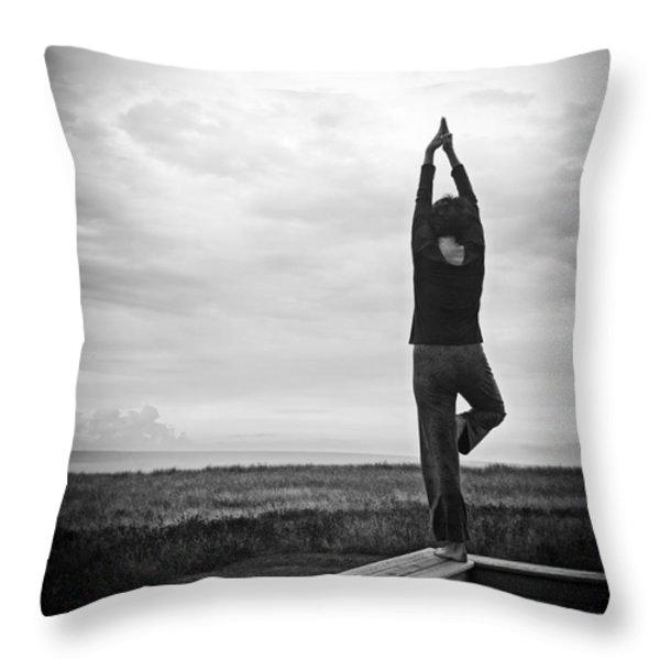 Peace Throw Pillow by Edward Fielding