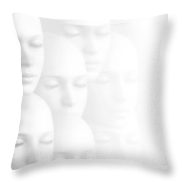 Peace Of Mind Throw Pillow by Photodream Art