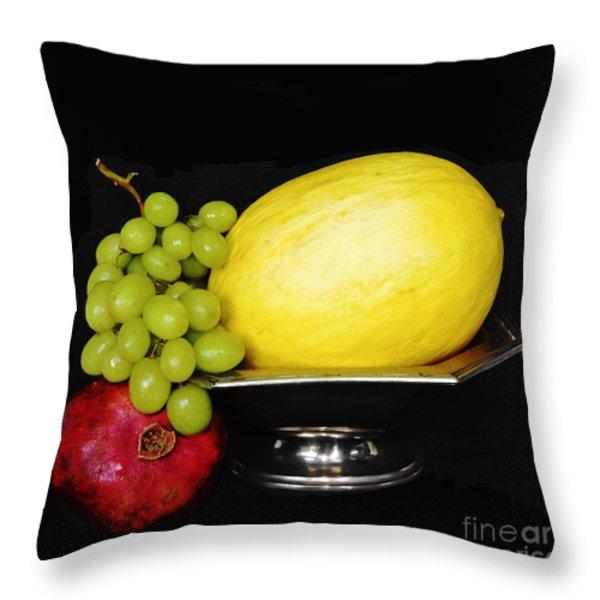 Peaceful Abundance Throw Pillow by Anahi DeCanio