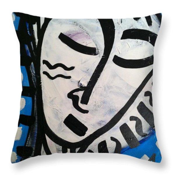 Peaceful Throw Pillow by Geoffrey Doig-Marx