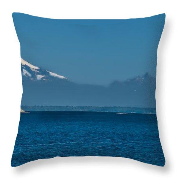 Peaceful Throw Pillow by Robert Bales