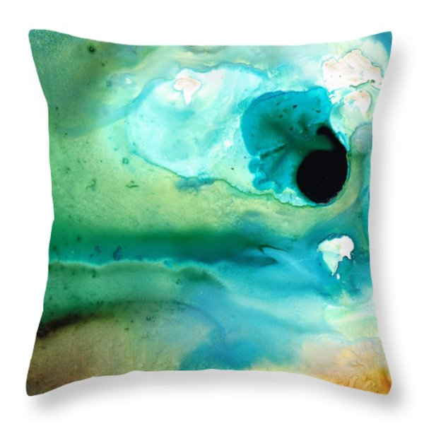 Peaceful Understanding Throw Pillow by Sharon Cummings