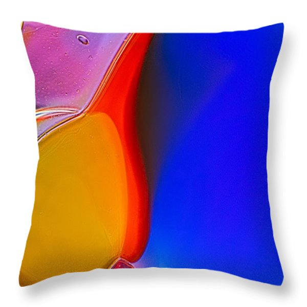 Penguins Throw Pillow by Omaste Witkowski