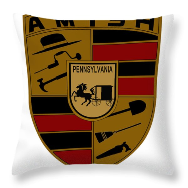 Pennsylvania Throw Pillow by Gabe Arroyo