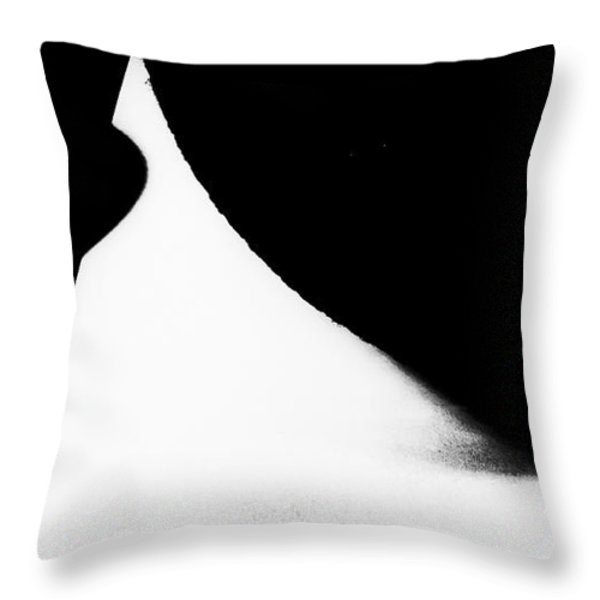Percentage  Throw Pillow by Fei A