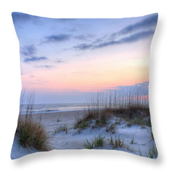 Perfect Skies Throw Pillow by JC Findley