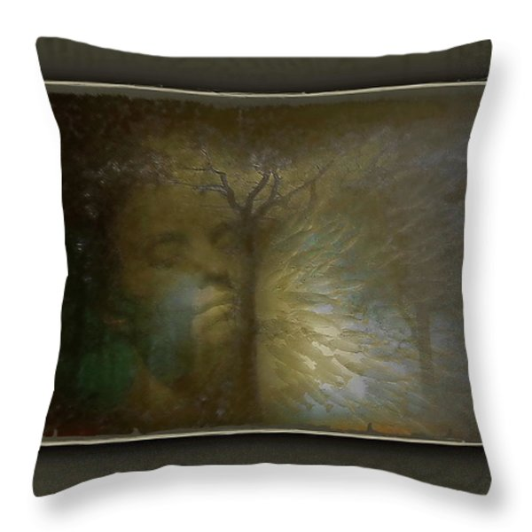 Performance Of Love Throw Pillow by Freddy Kirsheh