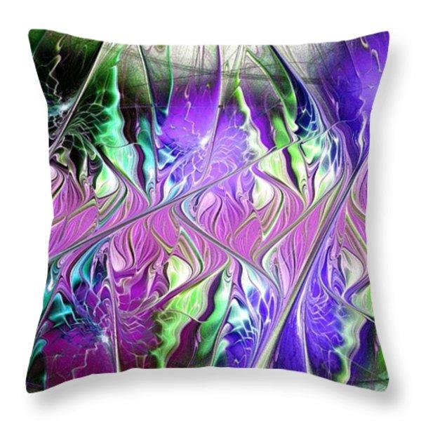 Permanent Liminality Throw Pillow by Anastasiya Malakhova