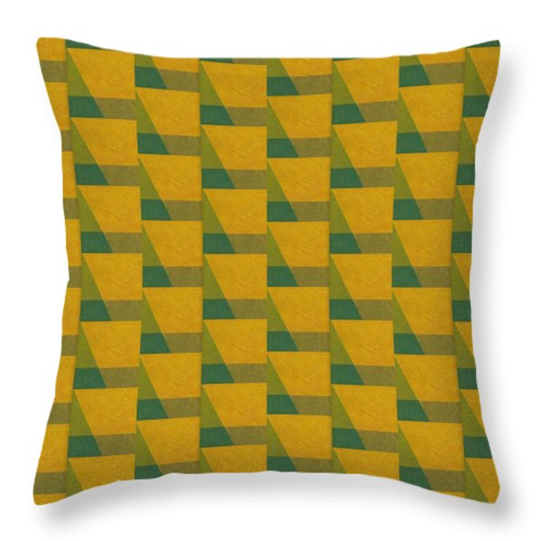 Perspective Compilation 6 Throw Pillow by Michelle Calkins