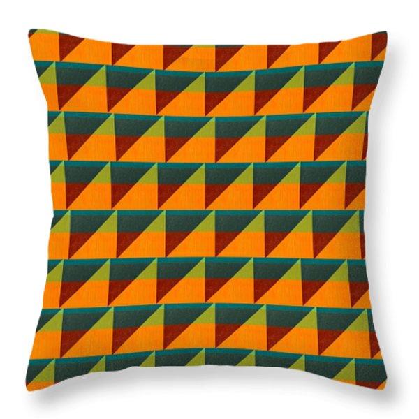 Perspective Compilation 9 Throw Pillow by Michelle Calkins