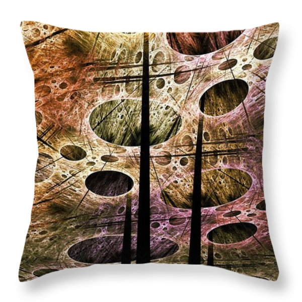 Perspective Lost Throw Pillow by Anastasiya Malakhova