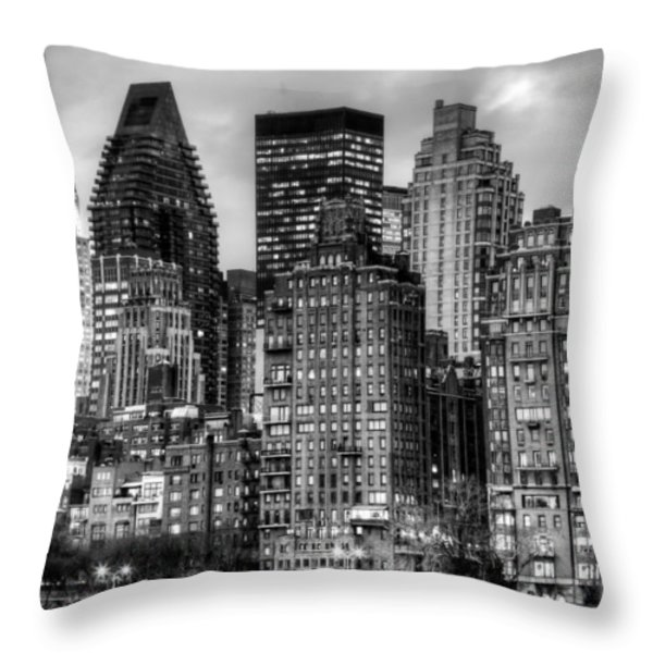 Perspectives Bw Throw Pillow by JC Findley