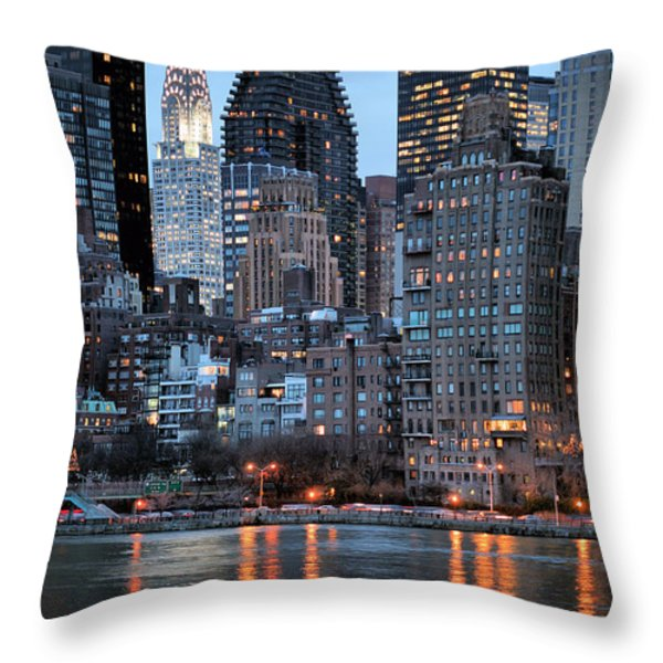 Perspectives V Throw Pillow by JC Findley