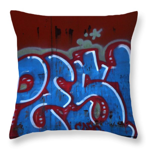 Pest Throw Pillow by Donna Blackhall