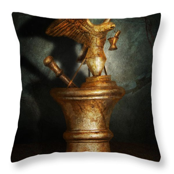 Pharmacy - Pestle - Proud Pharmacists  Throw Pillow by Mike Savad