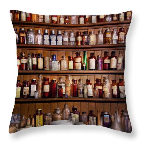Pharmacy - Pharma-palooza  Throw Pillow by Mike Savad