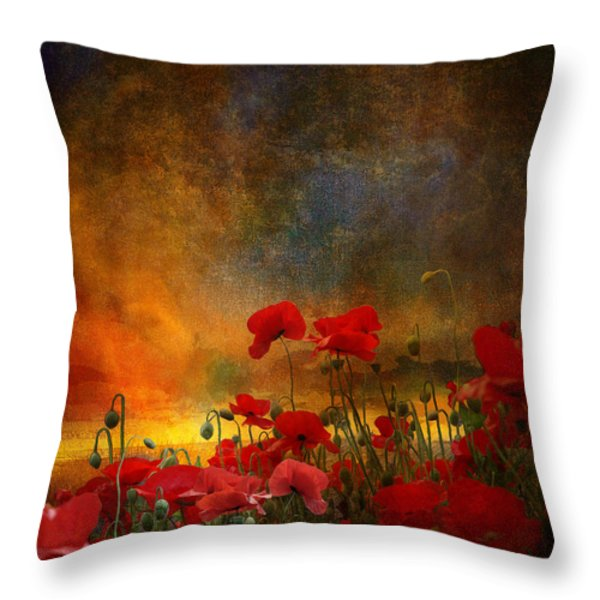 Phil Throw Pillow by Jeff Burgess