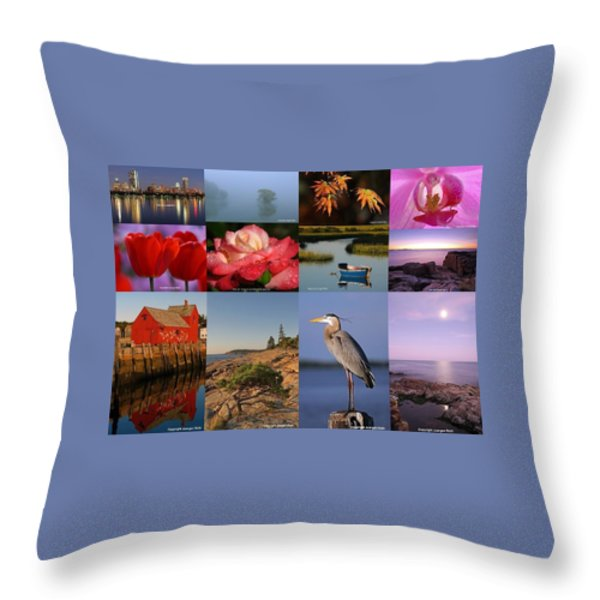 Photographing Light Throw Pillow by Juergen Roth