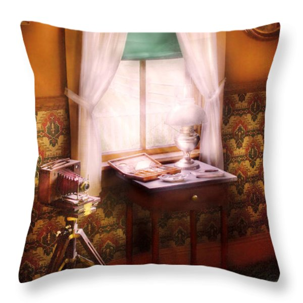 Photography - Creative Pursuits Throw Pillow by Mike Savad