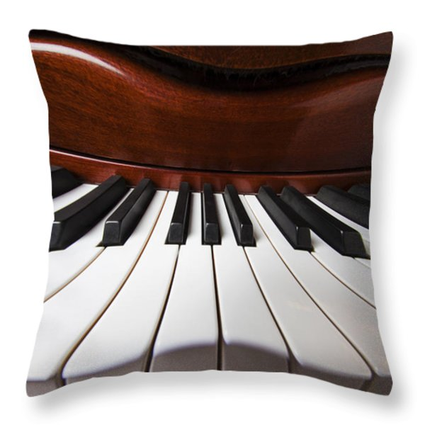 Piano Dreams Throw Pillow by Garry Gay