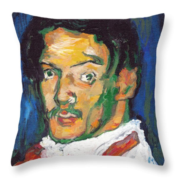 Picasso Throw Pillow by Tom Roderick