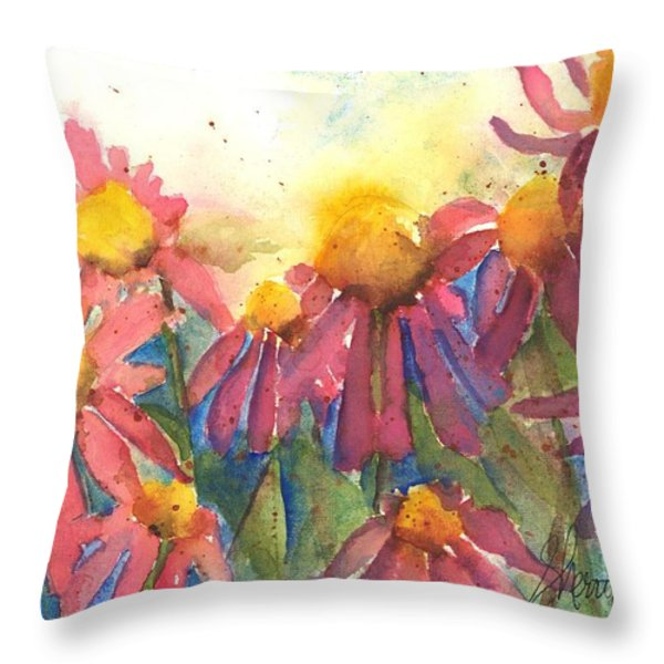 Pick Me Pick Me Throw Pillow by Sherry Harradence