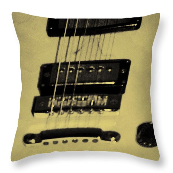 Pick Up Artist Throw Pillow by Bill Cannon