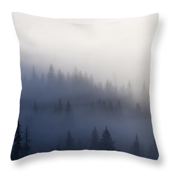 Piercing The Veil Throw Pillow by Mike  Dawson