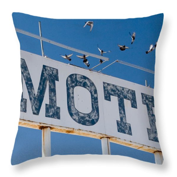 Pigeon Roost Throw Pillow by Scott Campbell