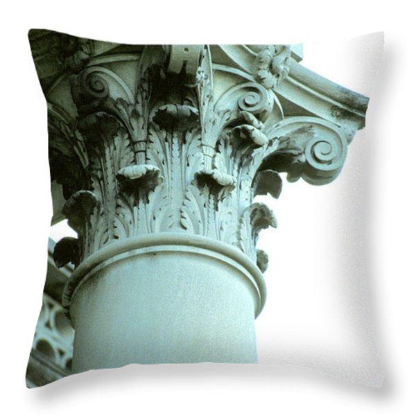 Pilar of Strength  Throw Pillow by Jon Neidert