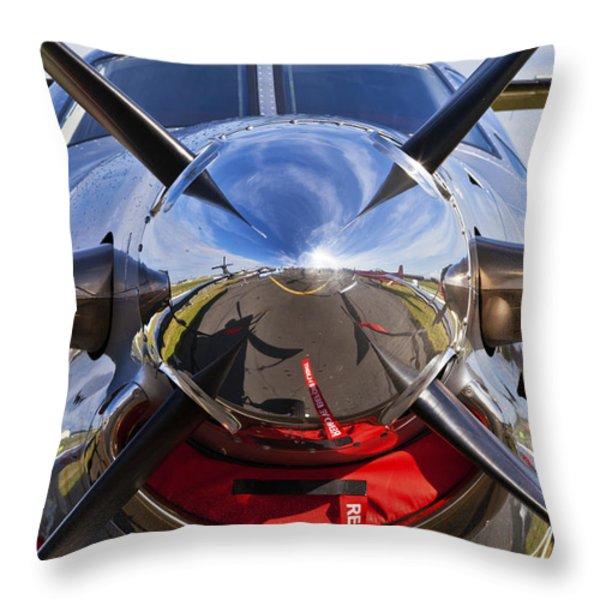 Pilatus Throw Pillow by Maj Seda