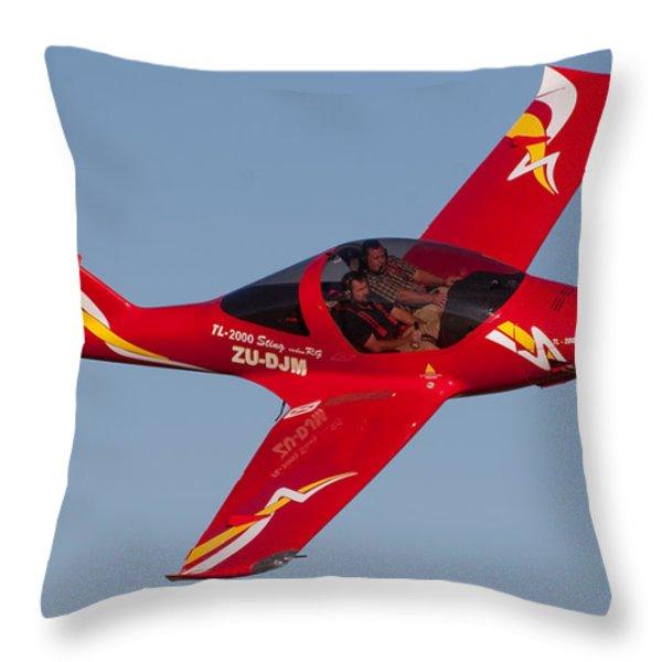 Pilots Throw Pillow by Paul Job