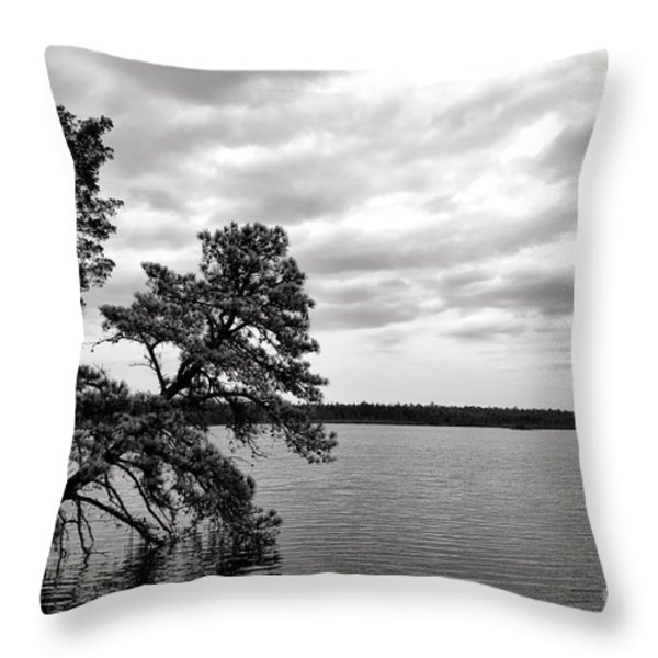 Pinelands Memories Throw Pillow by Olivier Le Queinec