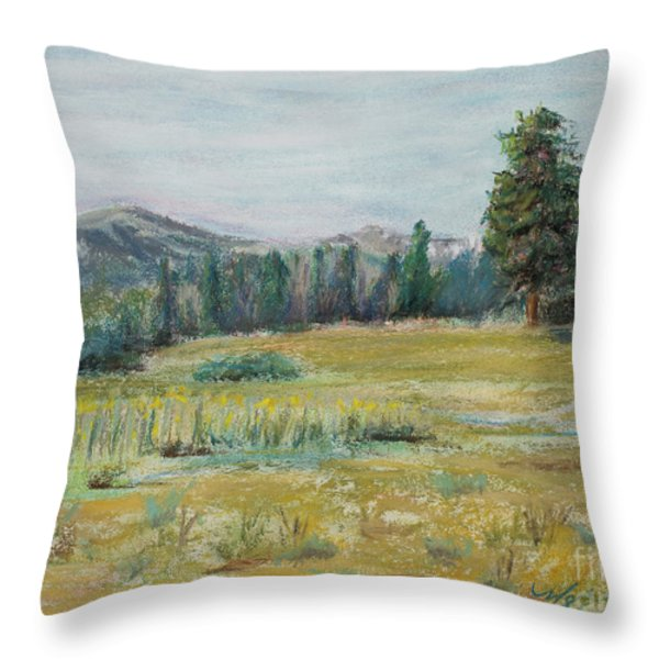 Pingree Park Throw Pillow by Mary Benke