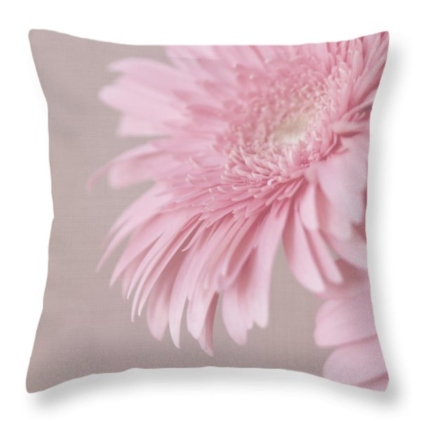 Pink Delight Throw Pillow by Kim Hojnacki
