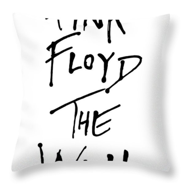 Pink Floyd No.01 Throw Pillow by Unknow