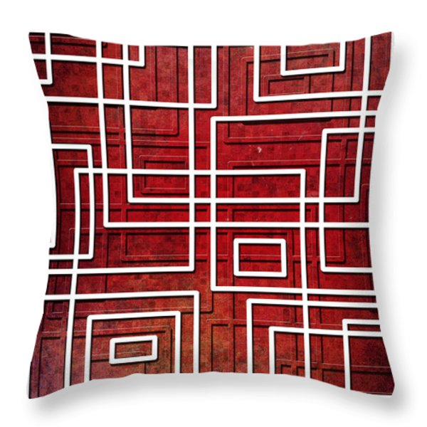 Pipeline Throw Pillow by Shawna  Rowe