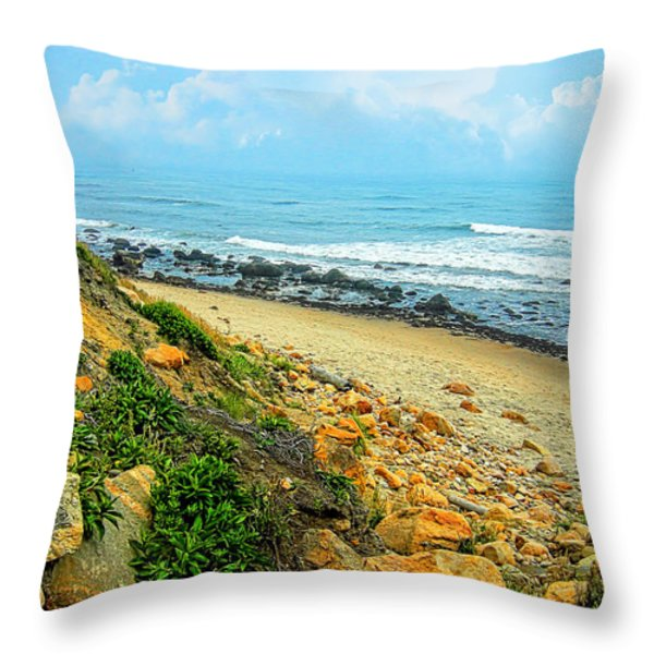 Place To Remember Throw Pillow by Lourry Legarde