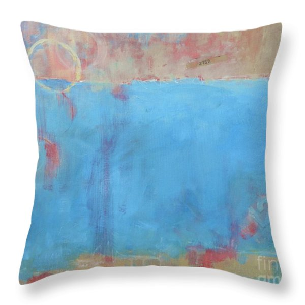Play By Numbers Throw Pillow by Kate Marion Lapierre
