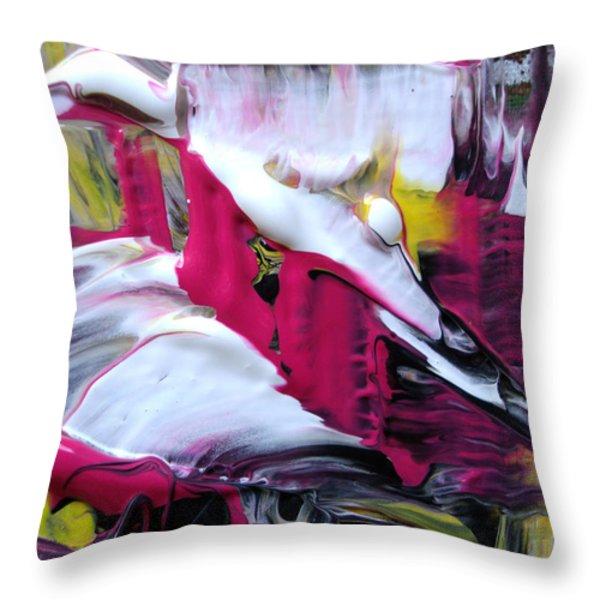 Playful Throw Pillow by Sir Josef Social Critic - ART