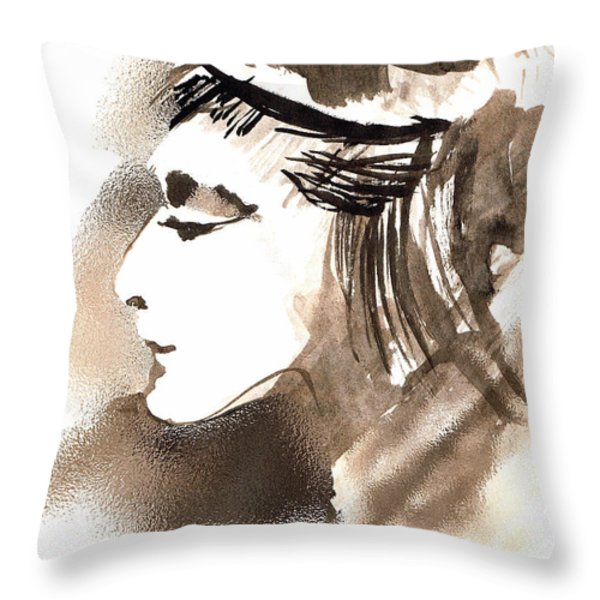 Poise Throw Pillow by Seth Weaver