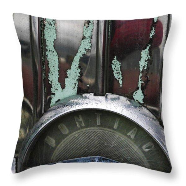 Pontiac Throw Pillow by Jean Noren