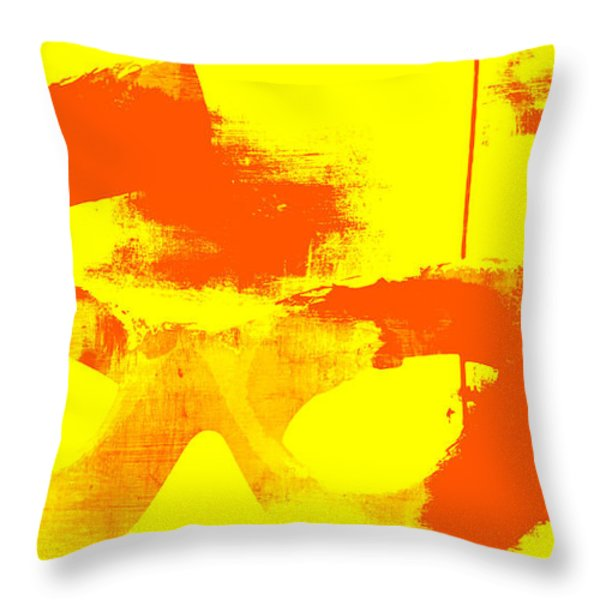 Pop Art Vintage Glasses  Throw Pillow by AdSpice Studios