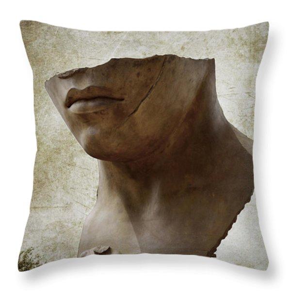 Porta Italica Throw Pillow by RicardMN Photography